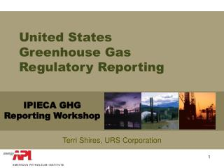 United States Greenhouse Gas Regulatory Reporting