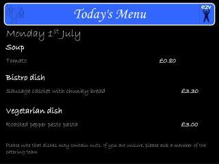 Monday 1 st  July