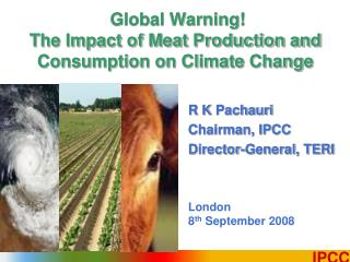 Global Warning!  The Impact of Meat Production and Consumption on Climate Change
