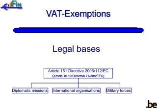 VAT-Exemptions