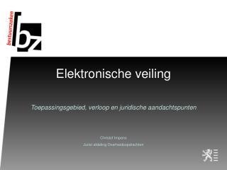 Elektronische veiling