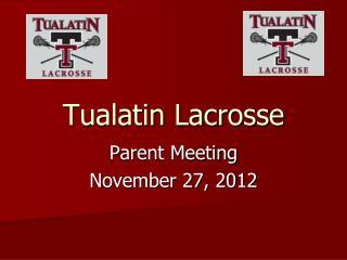 Tualatin Lacrosse