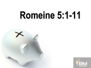Romeine 5:1-11