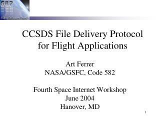 CCSDS File Delivery Protocol for Flight Applications