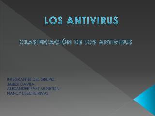 LOS ANTIVIRUS