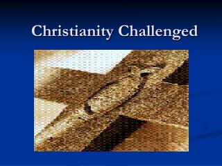 Christianity Challenged