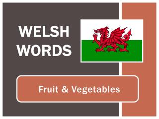Welsh Words
