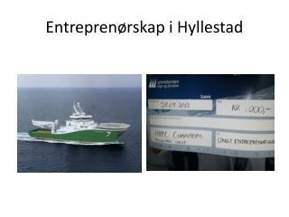 Entrepren�rskap i Hyllestad