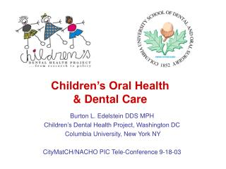 Children s Oral Health   Dental Care