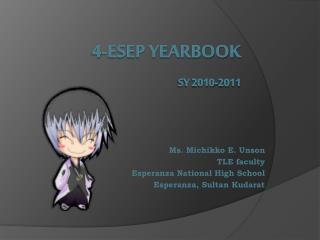 4-ESEP YEARBOOK SY 2010-2011