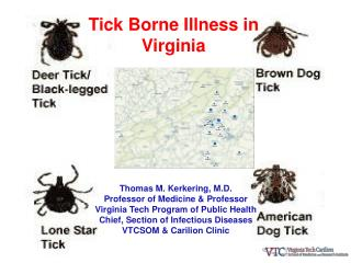 Tick Borne Illness in Virginia
