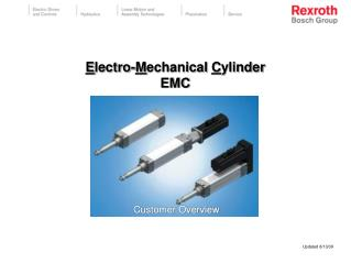 Electro-Mechanical Cylinder EMC