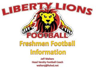 Freshmen Football  Information