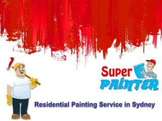 Residential Painting Service in Sydney