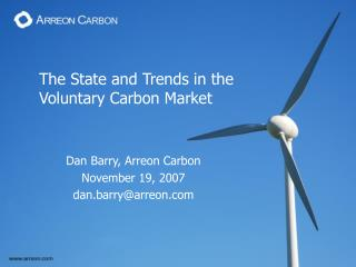 The State and Trends in the  Voluntary Carbon Market