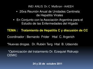INEI  ANLIS  Dr. C  Malbran - AAEEH