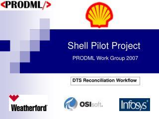 Shell Pilot Project PRODML Work Group 2007