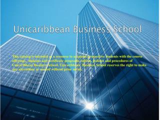 Unicaribbean Business School