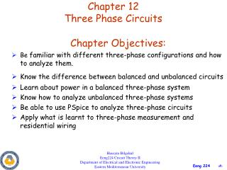 Chapter 12 Three Phase Circuits