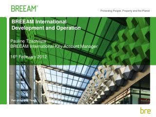 BREEAM International Development and Operation