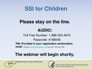 SSI for Children