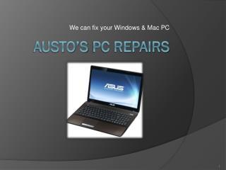 Austo's  Pc Repairs