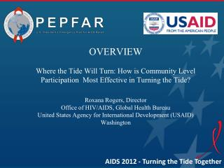 The Role of Community in the HIV and AIDS Response