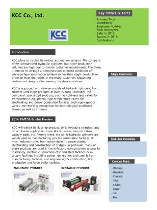 KCC Co., Ltd.