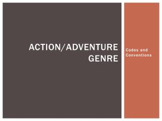 Action/Adventure Genre