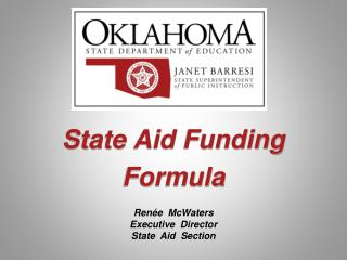 State Aid Funding Formula