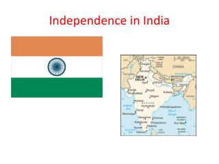 Independence in India