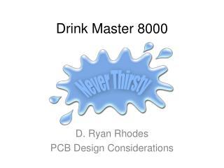 Drink Master 8000
