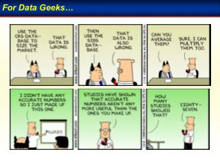 For Data Geeks�