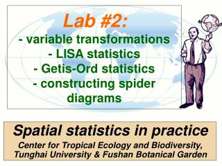 Spatial statistics in practice