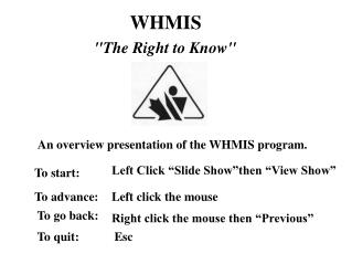 WHMIS