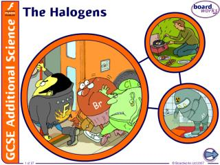 Group 7 � the halogens