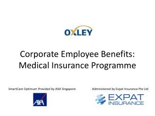 Corporate Employee Benefits: Medical Insurance  Programme