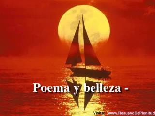 Poema y belleza -