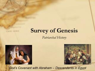 Survey of Genesis