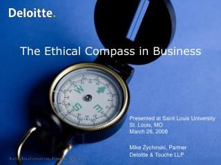 The Ethical Compass in Business