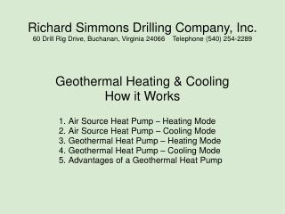 Richard Simmons Drilling Company, Inc.