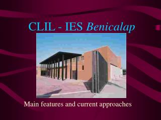CLIL - IES  Benicalap