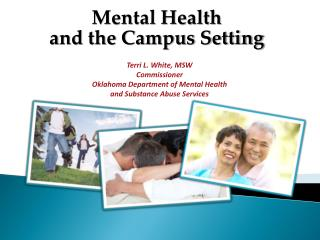 Mental Health  a nd the Campus Setting