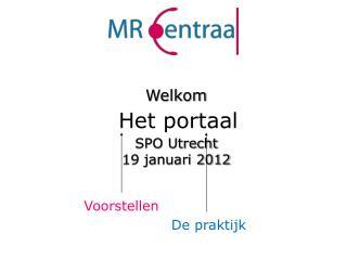 SPO Utrecht 19 januari 2012