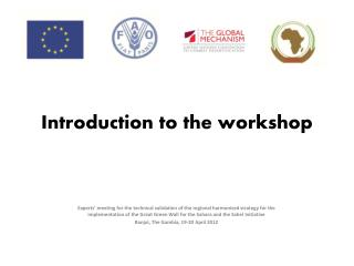 Introduction to the workshop