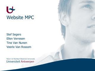 Website MPC