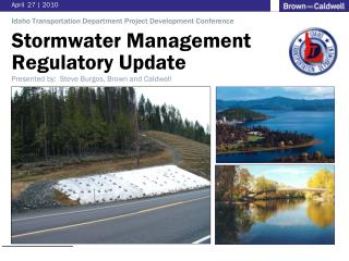 Stormwater Management  Regulatory  Update