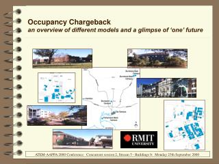 Occupancy Chargeback an overview of different models and a glimpse of 'one' future