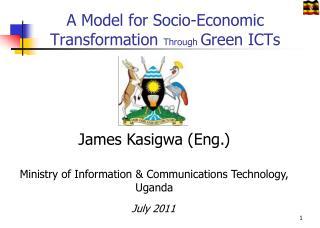 A Model for Socio-Economic Transformation  Through  Green ICTs