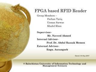 FPGA based RFID Reader